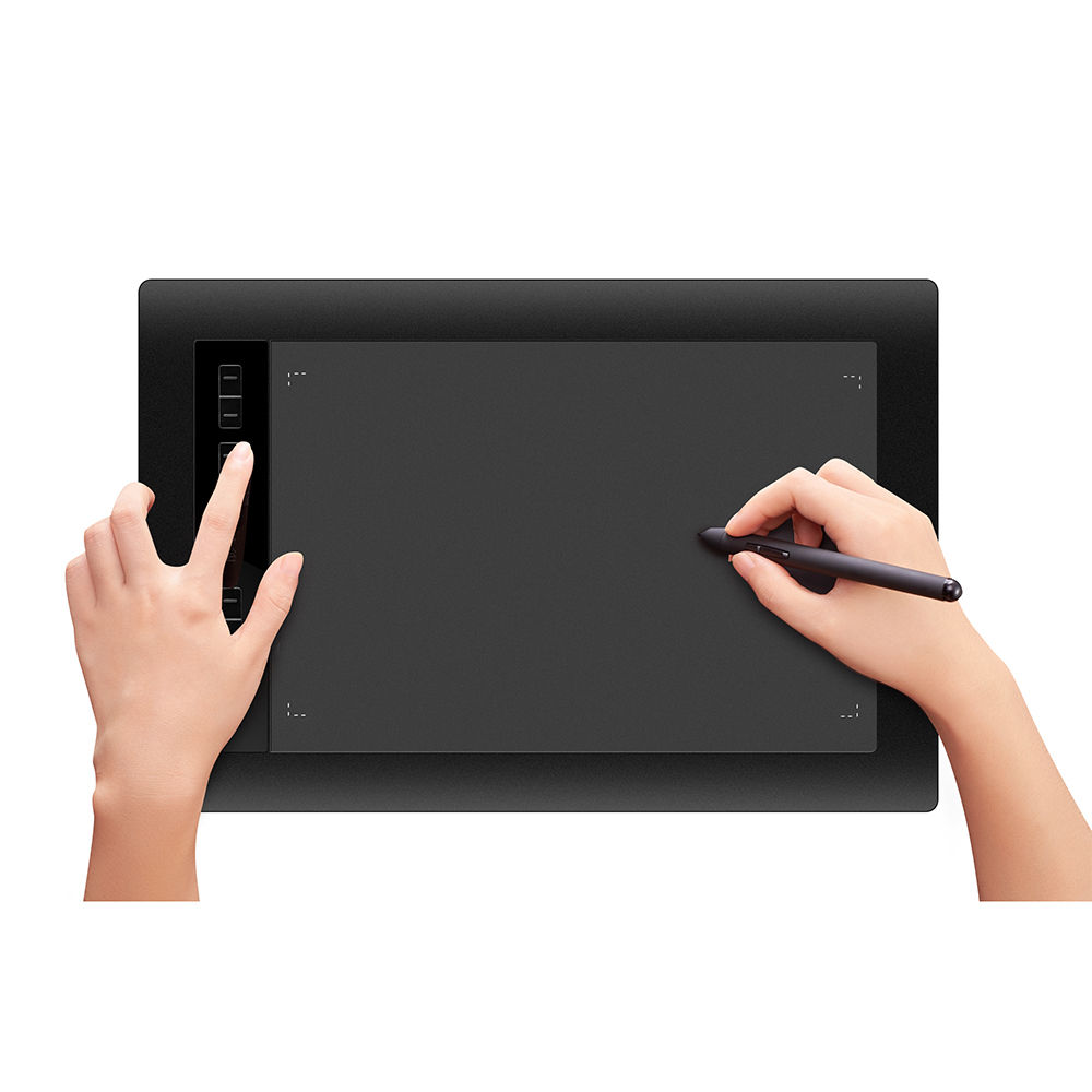 Redrim 1060 Pro Portable Graphic Drawing Painting Tablet Battery-free Pen 5080LPI