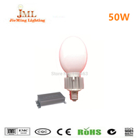 Separated bulb induction lamp E40 E27 base 50w 3500lm 3 years warranty cold white color induction bulb light