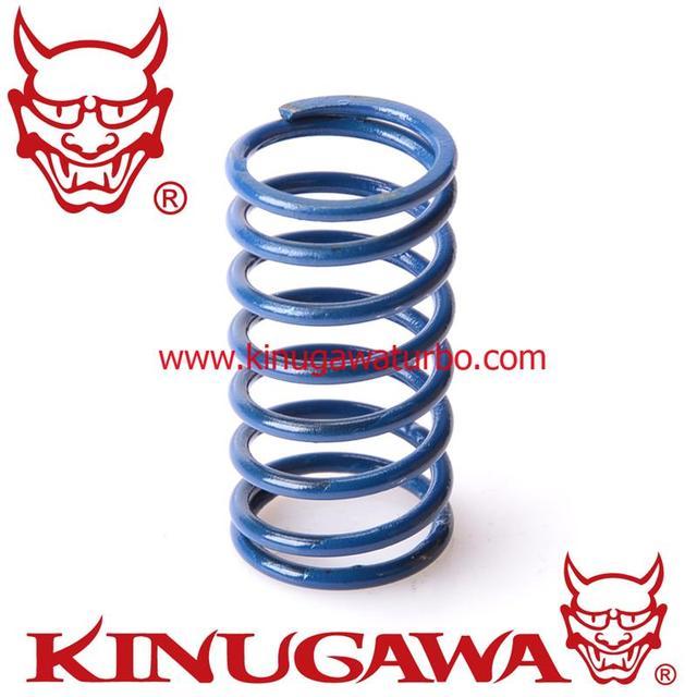 Kinugawa Ajustável Turbo Wastegate Atuador Primavera 1.5 bar/22 Psi Azul Pavão
