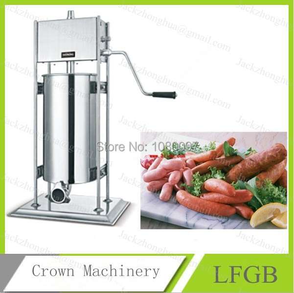 15L free shipping Sausage making machine