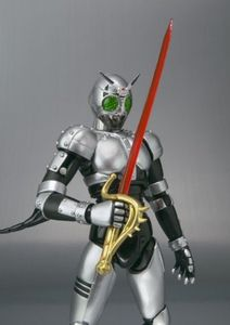 Image 3 - Japan Kamen Masked Rider Original BANDAI Tamashii Nations SHF/ S.H.Figuarts Toy Action Figure   Shadow Moon Ver 1.0