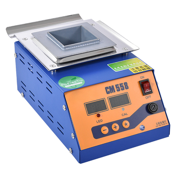 Estufa de soldadura de horno de estaño de fusión ajustable a temperatura de 300w estaño de 1,4 KG crisol CM 558 de estaño cuadrado Digital sin plomo|stove| |  -