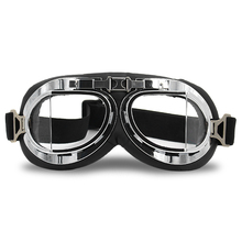 Retro Goggles Vintage Motorcycle UV Protection Foldable Steampunk for Men Women Cycling Accessories