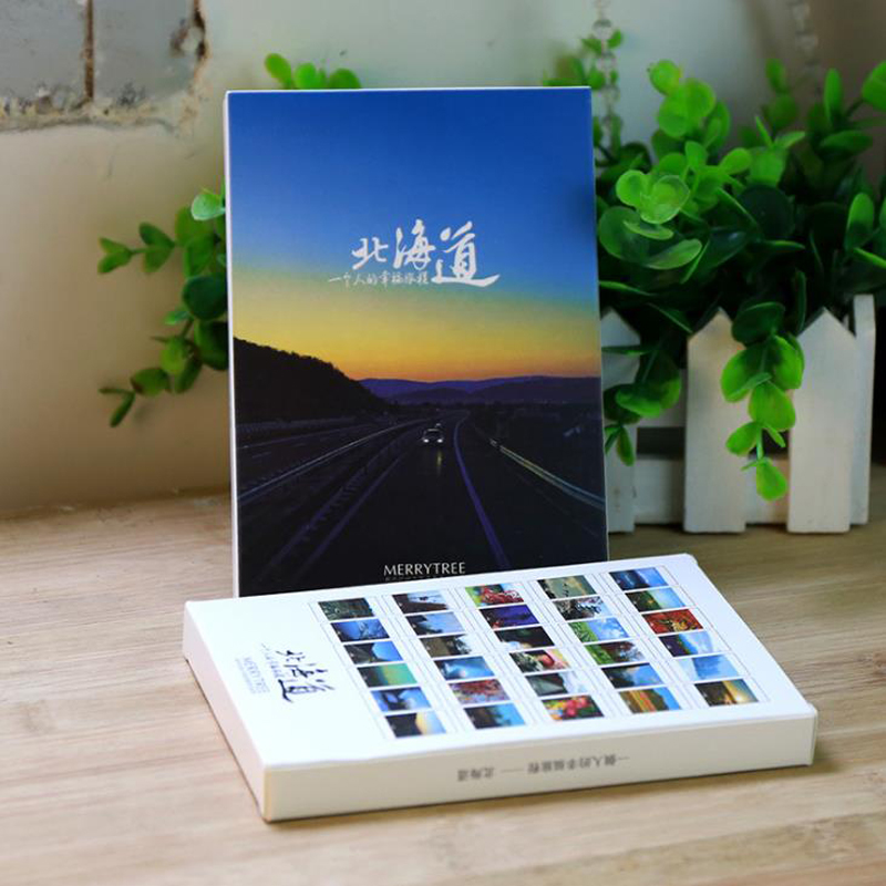30 Pcs/pack Lovely Take A Trip To Hokkaido Japan Postcard /Greeting Card/Wish Card/Message Cards Fashion Christmas Gift