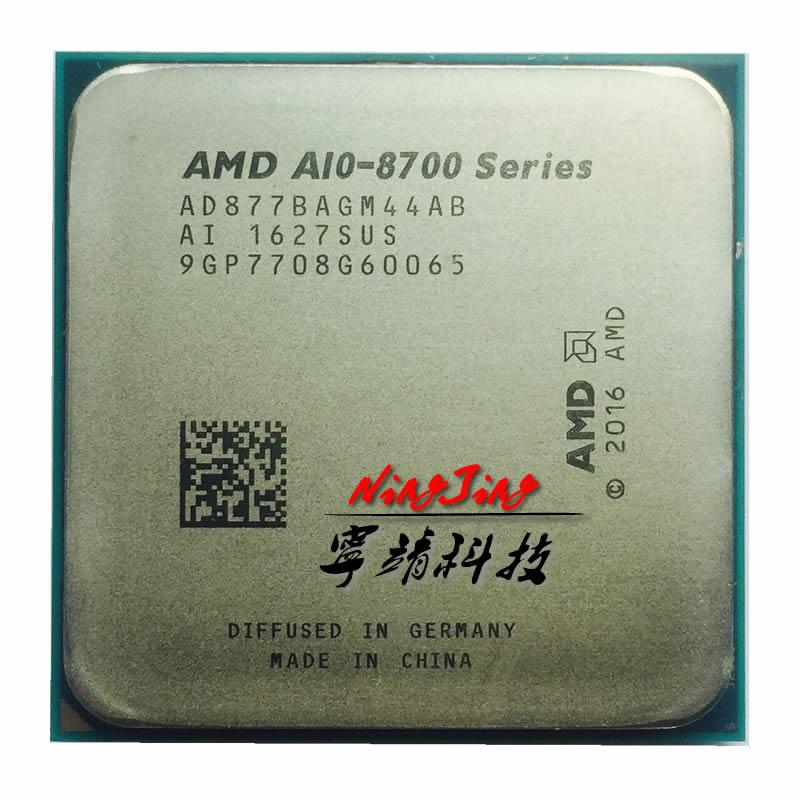 AMD A10 Series PRO A10 8770 A10 8770 3 5 GHz Quad Core CPU Processor AD877BAGM44AB