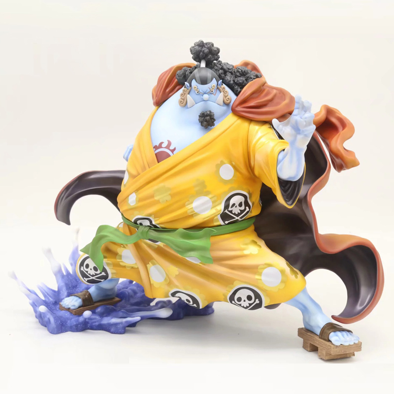 10 One Piece Anime Shichibukai JINBE P.O.P ver. Boxed 25cm PVC Action Figure Collection Model Doll Toys Gift free shipping 10 anime love live eli ayase pumpkin halloween ver boxed 25cm pvc action figure collection model toy gift