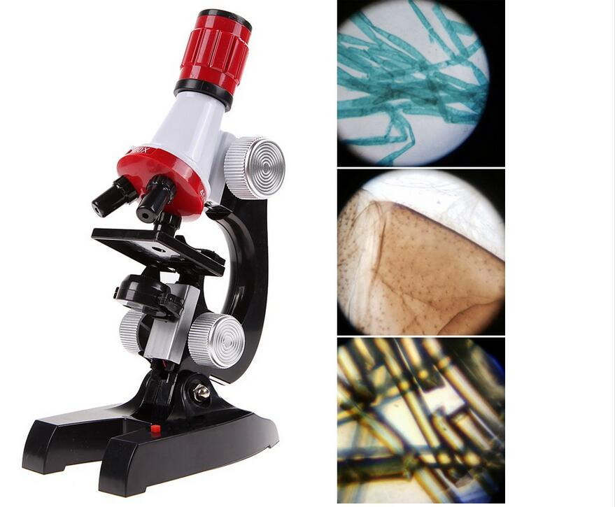 Mikroskop für kinder satz mikroskop kit labor hause