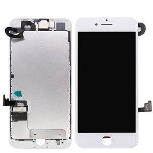 Image 2 - フル iphone 7 7 グラム 7 プラス液晶画面、フロントカメライヤホンスピーカーバックプレートディスプレイタッチスクリーンの交換