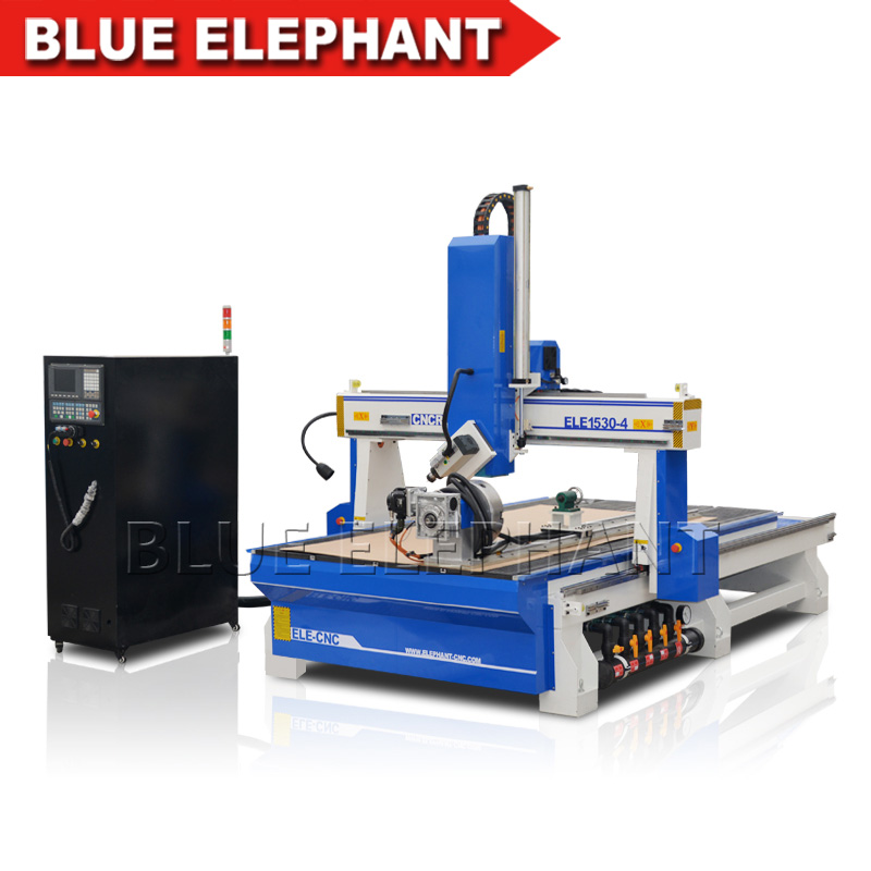 Mdf Cutting Cnc Machine Price 4 Axis Cnc Milling Machine 1530 Wood Cnc Router 3d Wood Cutting Machine 4 Axis Cnc Router