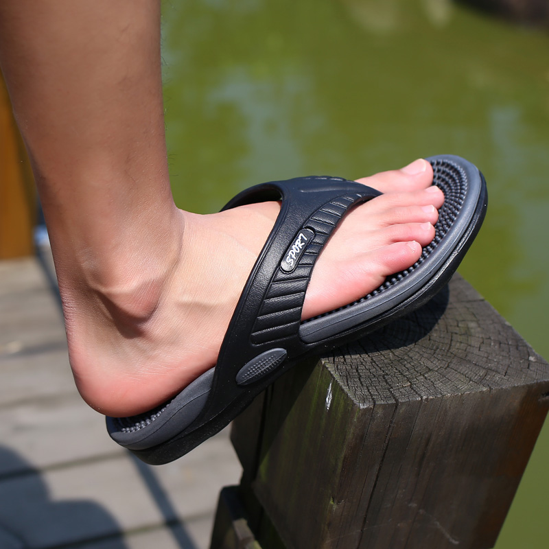 Summer Mens Flip Flops Massage Sole Beach River Slipper Fishing Slippers Man Sand Shoes Top designer Fashion Colorfull Flip Flop