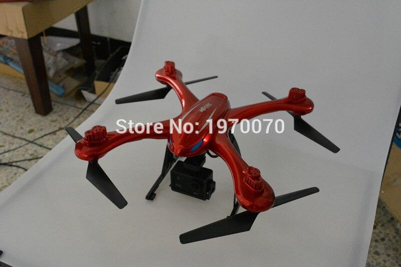 MJX X102H 2.4G RC Quadcopter Drone Com Modo de Altitude de Pressão de Ar alta Set FPV Câmera Wi fi Um Retorno decolar de Pouso - 2