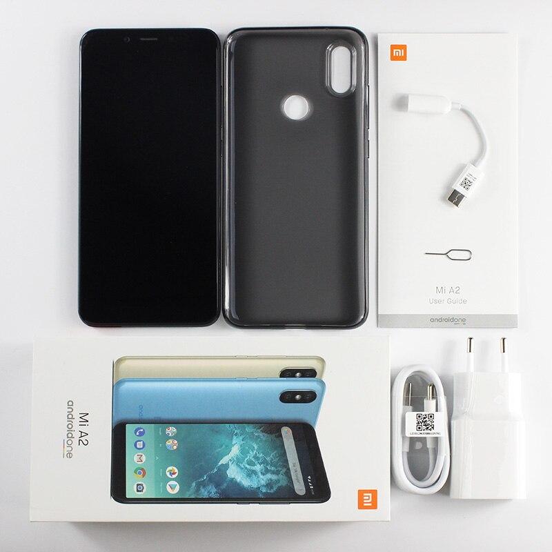 "Global Version Xiaomi Mi A2 Mia2 4gb Ram 64gb Rom Mobile Phone Snapdragon 660 Octa Core 5.99"" 19:9 Full Screen 20mp Dual Camera #5"