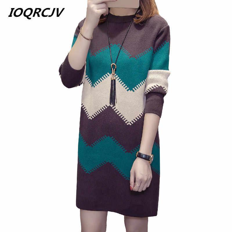 여자 가을 겨울 스웨터 니트 드레스 슬림 탄성 터틀넥 긴 소매 섹시 레이디 bodycon 가운 드레스 vestidos l112