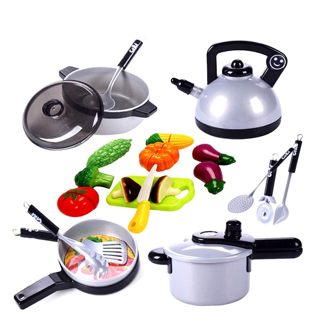 Surwish Children Cooking Kitchen Toys Pretend & Play Game Early Educational Gift Fun Toy Set салатники fun kitchen