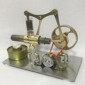Image 2 - Balance Stryn motor miniatur modell dampf power technologie kleine produktions kleine power generation experimentelle spielzeug