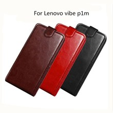 Luxury retro PU Leather Case For Lenovo vibe p1m 5.0 case Wallet Flip cover for p1 ma40 Vibe P1M fundas capa