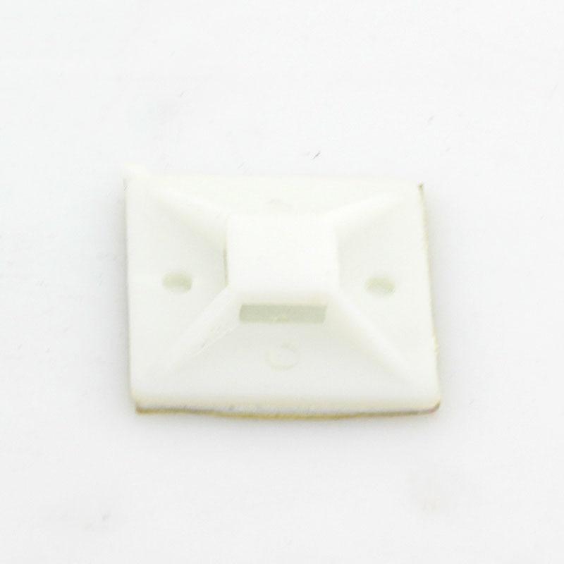 20mm * 20mm 20 stücke Weiß Kabelbinder Kabel Draht Abnehmbaren ...