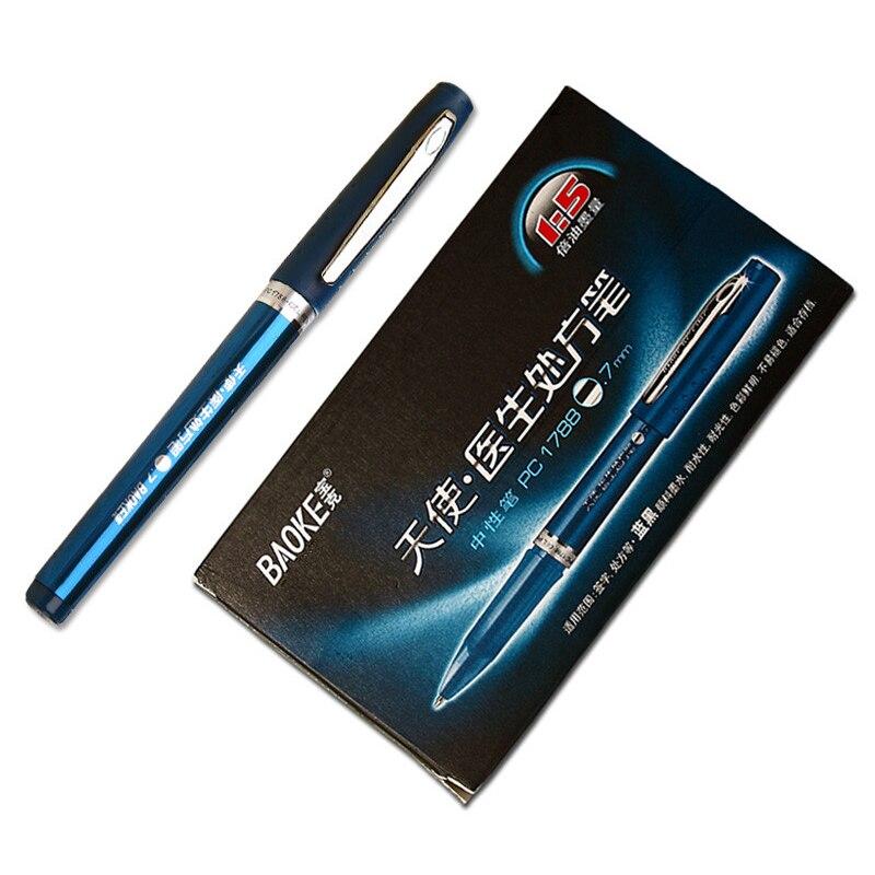 BAOKE Angel doctor special neutral pen 0.7mm prescription dedicated pen сарафаны doctor e сарафан