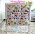 Promoção! Kitty Mickey Marca Cama Berço Do Bebê Pendurado Saco De Armazenamento, berço organizador 62*52 centímetros brinquedo fralda de bolso para crib bedding set