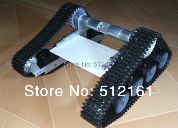 arduino robot full set of Robo-Soul TK-100 full set  tracked robot  chassis optimal adaptive visual servoing of robot manipulators