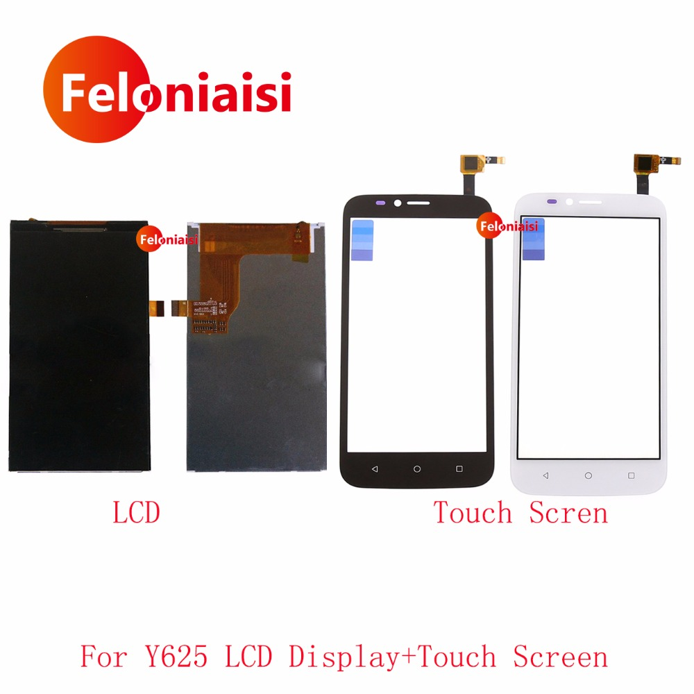 High Quality 5.0'' For Huawei Ascend Y625 LCD Display With Touch Screen Digitizer Sensor Panel+Tracking Code