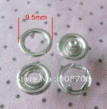 HW0001 out Dia 7.5mm/9.5mm/11mm/15mm shining nickle bronze Sprong snap button 50 sets baby clothes accessories garment buttons