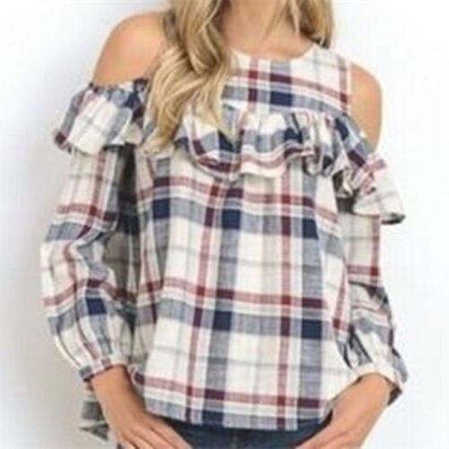 2b2b40eaef6 Модные женские туфли летние свободные Повседневное с открытыми плечами рубашка  блузка дамы топ