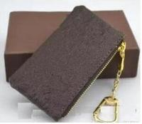 2019 WOXK new fashion genuine leather coin purse with dustbag and yellow box speedy women/men small zippy wallet free shipping
