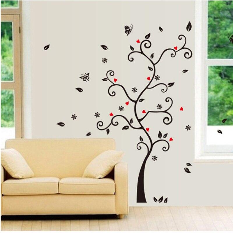 Decoración del hogar foto de familia álbum Marcos Tree Wall Decals ...