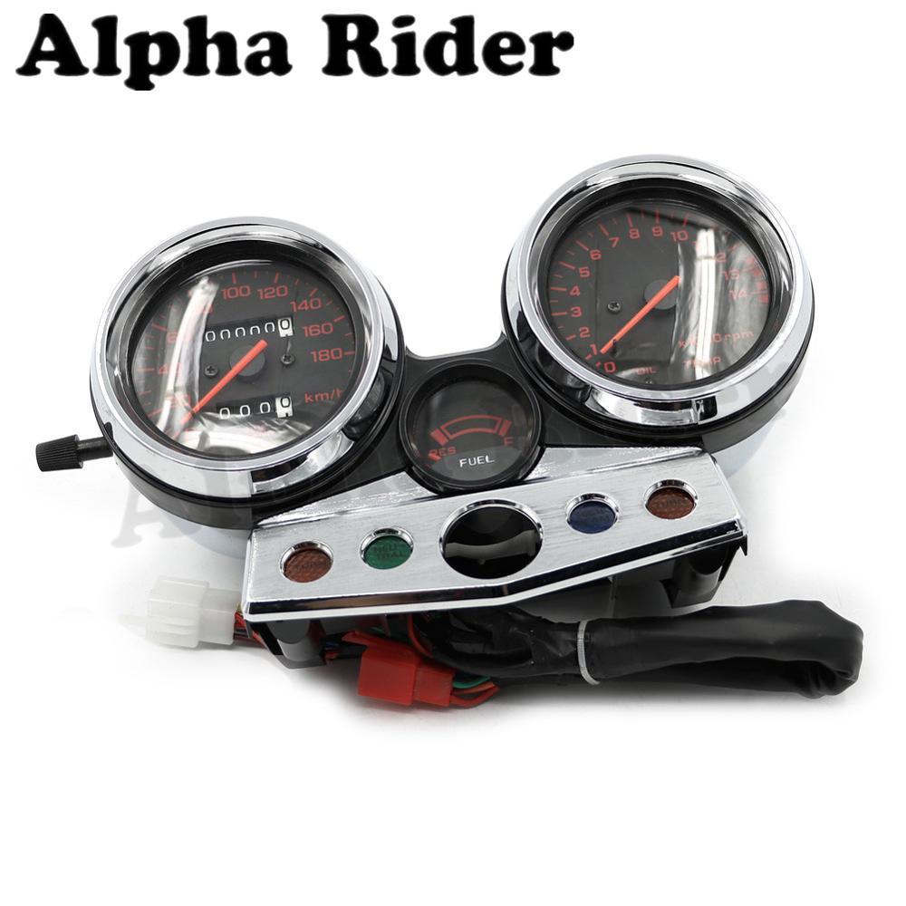 Motorcycle Speedo Speedometer/Kilometer Odometer Gauge Tachometer Complete for Honda CB400 CB 400 1995-1998 1997 1996