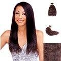 18inch Mix Black Color Super Afro Kinky Straight Bulk Coarse Grace Unwefted straight Hair Extensions Bundles Yaki straight Bulk