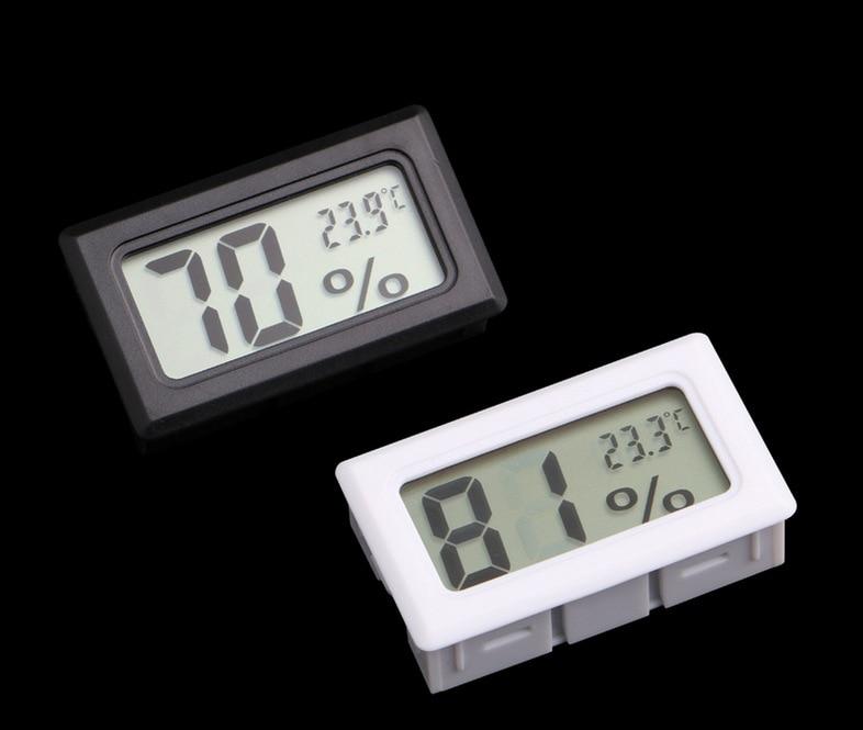 Digital Thermometer Hygrometer Moisture meter Temperature Humidity Meter Fridge Freezer -50-70C 10%RH~99%RH 50 70c 10% 99%rh lcd digital thermometer hygrometer tester temperature sensor meter humidity gauge detector 29% off
