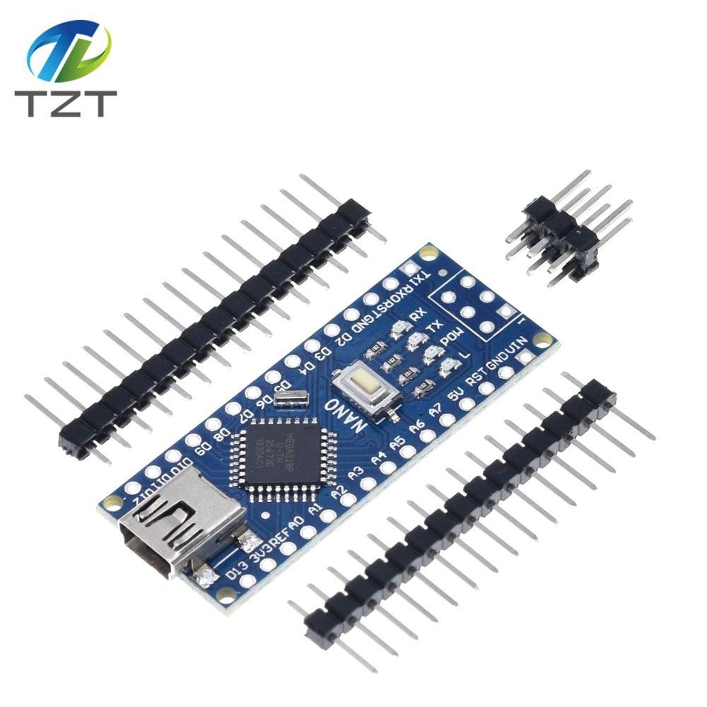 Docooler Erweiterungskarte Adapterplatine f/ü r Arduino Nano 3.0 V3.0 AVR ATMEGA328P ATMEGA328P-AU-Modul