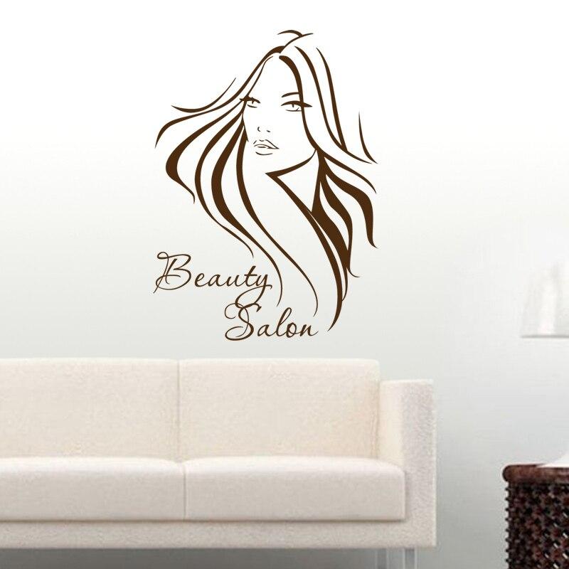 Плакат на окно салон красоты