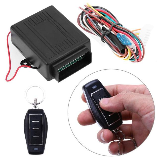 Car Door Lock Keyless Entry System Auto Remote Control Central Kit