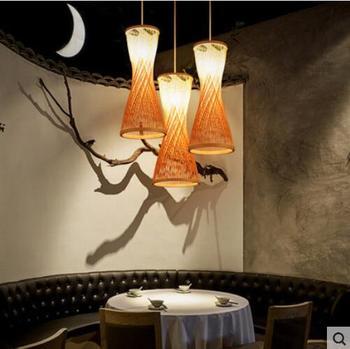 Креативный ресторан люстра Юго-Восточной Азии Японский китайский стиль лампы