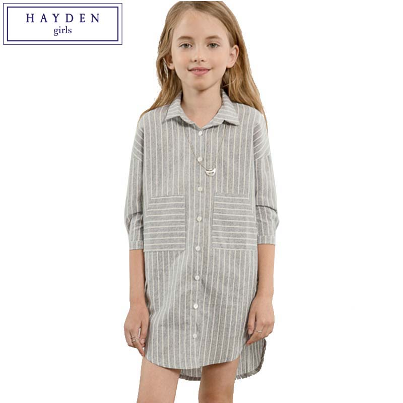 Hayden Girls Striped Shirt And Blouses Clothes Size 12 -9663