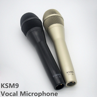 Finlemho Professional Microphone Dynamic Capsule Karaoke Recording Studio KSM9 For Guitar Amplifier Drum Kit Instrument Mixer