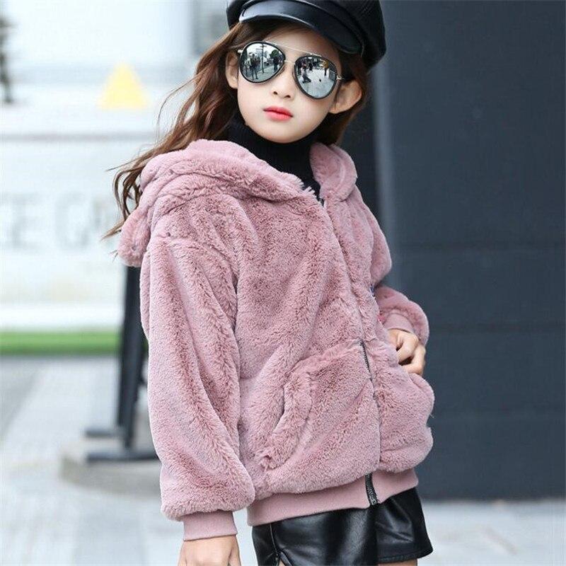 Baby Fur New Girl Rabbit Clothes Imitation Fox
