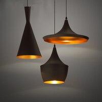 3 Teile/satz Moderne LED Pendelleuchte Vintage Pendelleuchte E27 Edison-birne Hause Leuchte Art Deco Designer Licht glanz