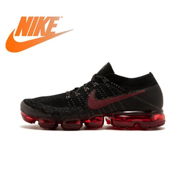 836bf870f61b Resmi Asli NIKE AIR Vapormax Benar FLYKNIT Lari Pria Sepatu Olahraga  Outdoor Sneakers Rendah Top Olahraga
