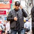 Big Guy Thick Warm Black Casual Jackets Men 2017 Mens Spring Jacket Big Size 5XL 6XL 7XL Male Coats 1556