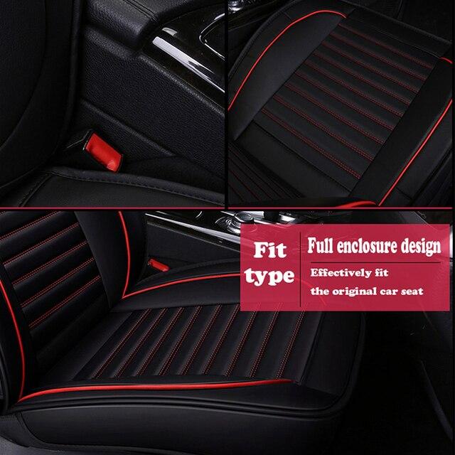Lcrtds universal couro capa de assento do carro para renault captur kaptur clio 1 2 3 4 clio grandtour espanador fluência kadjar koleos 2017