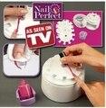 Nail Perfect Instrument Nail Painting Kit Nursing Nail Art Equipment AS SEEN ON TV Creative Nail Salon Art Set Tool Retail Box