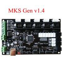 PCB Controller Board MKS Gen V1 4 Integrated Mainboard Compatible Ramps1 4 Mega2560 R3 Support A4988
