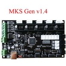 Controller board PCB MKS Gen V1.4 integrado placa base compatible Ramps1.4/Mega2560 R3 soporte a4988/DRV8825/TMC2100