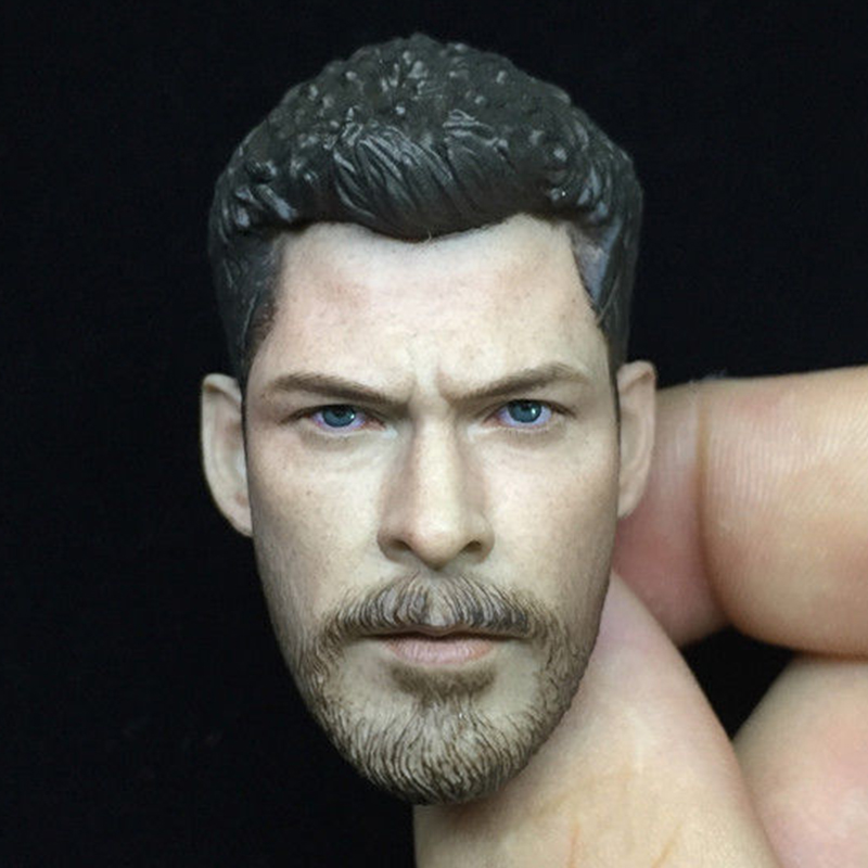 1 6 scale male man boy head sculpt Thor Raytheon head carving the Avengers series figure model for 12 quot action figure body in Action amp Toy Figures from Toys amp Hobbies