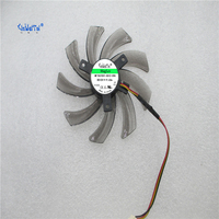 Free Shipping PLD10010S12H 12V 0 30A 95mm For Gigabyte GeForce GTX 660 600 7750 TI Graphics
