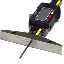 Цифровой измеритель глубины 0-50 мм 0-100 мм 0-150 мм 0,01 мм с тонким стержнем электронный датчик глубины протектора шин тонкий штангенциркуль