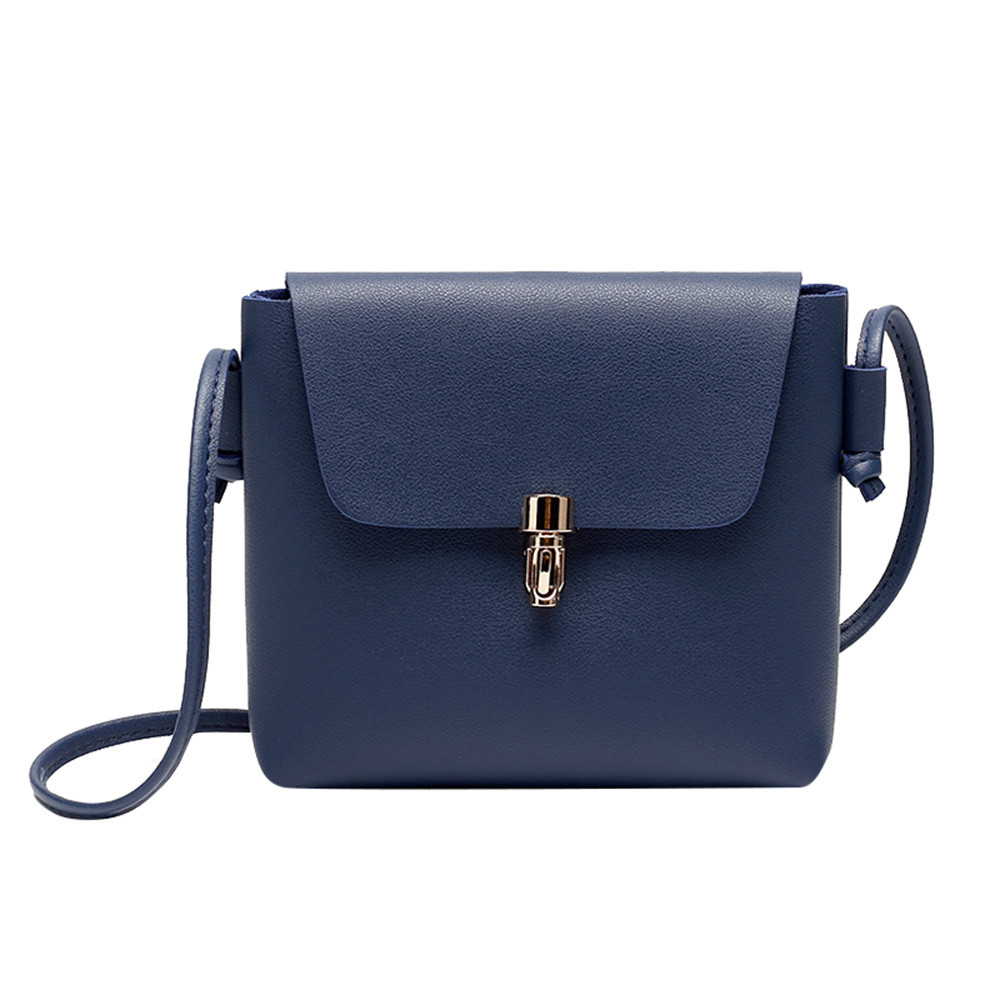 78e63a0d3d67 Small leather Women bag Fashion Cover Hasp Crossbody Bag Messenger Phone bag  korea style bolsa feminina bags for lady 2018 Z